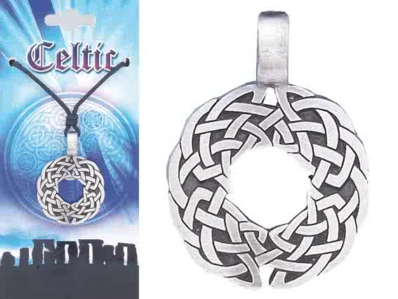 CELTIC Knot Pewter Pendant 2